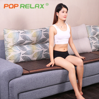 POP RELAX Korea quality tourmaline germanium bed mattress best size stone sofa mat thermal bio health care far infrared therapy