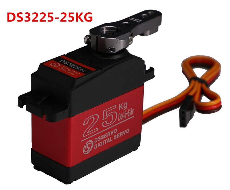 1X DS3225 update servo 25KG full metal gear digital servo baja servo Waterproof servo for baja cars+Free Shipping