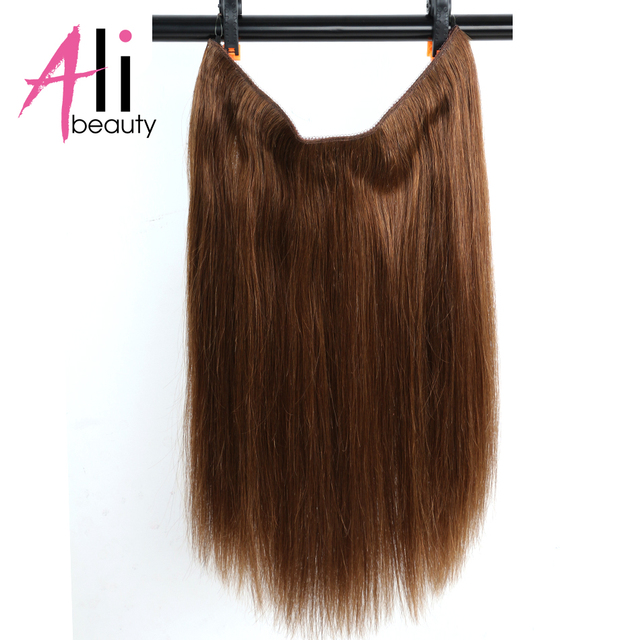 Ali Beauty 18 Flip On In Hair Extensions Peruvian Straight Hair No
