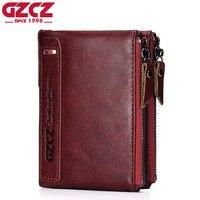 ESIPOSS Brand Men Wallets Bifold Purse Genuine Leather Wallet Card Holder 2016 New Luxury Designer Mini