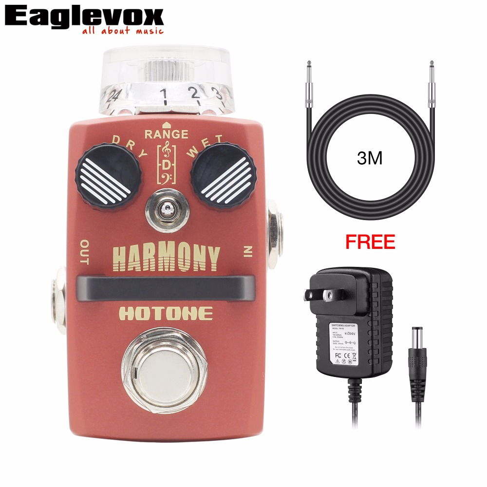 Hotone HARMONY Pitch Shifter Harmonist Electric Guitar Effect Pedal with Free Power Adapter and 3m Cable catherine douillet national harmony and its discontents