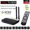 3GB RAM 32GB CSA93 Amlogic S912 Octa Core Android 6.0 TV Box BT4.0 2.4/5G WiFi H.265 4K 1000M Smart Meida Player add i8 Keyboard