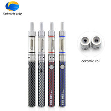 2pcs/lot e cigarette Sub one C14 starter Kit with 1.5ml 1.5ohm ceramic coil tank cigarette electronic vape pen blister e cig kit