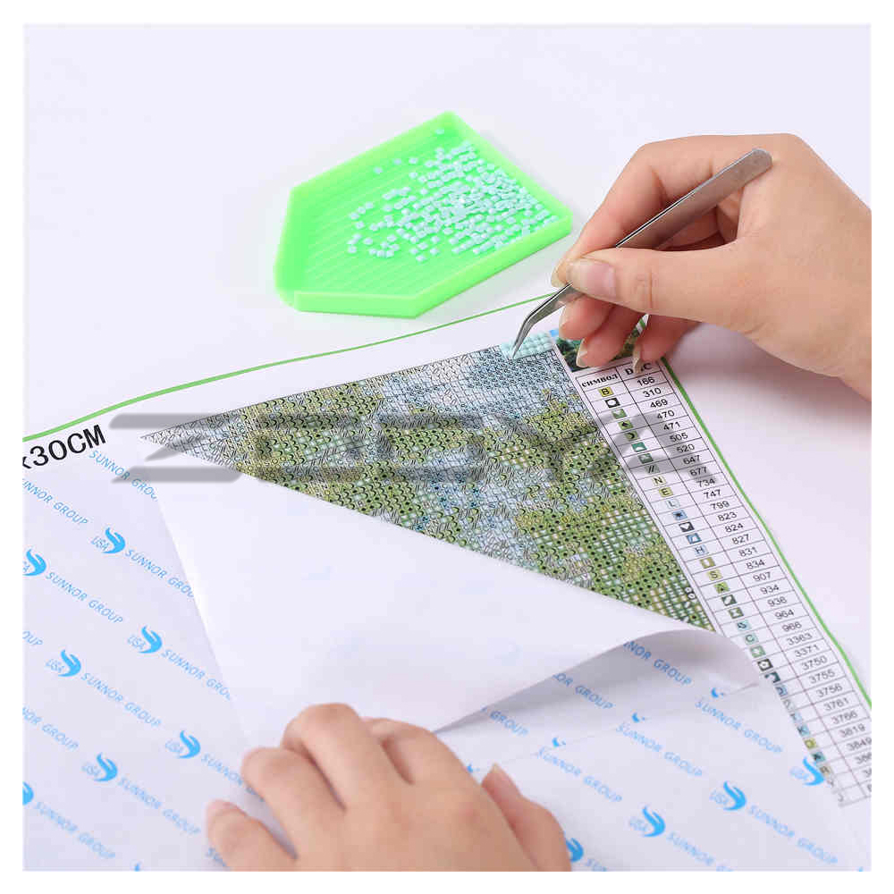 5D DIY Diamond Embroidery Painting Cross Stitch Landscape Trees Home Decoration Full Mosaic Crafts 3d Kit For Needlework BJ281