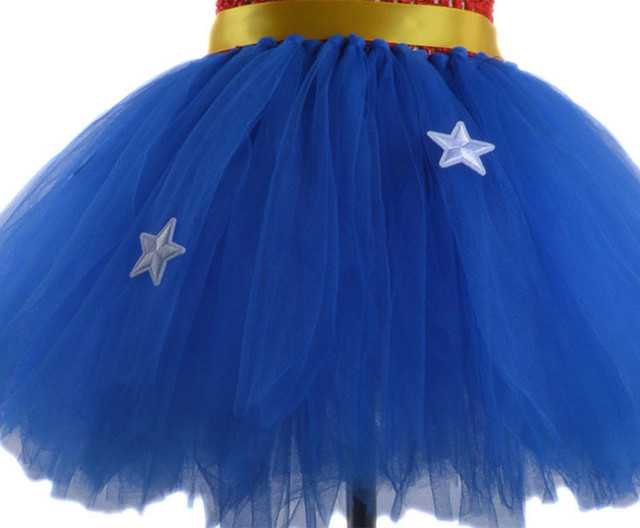 Girl Superman Wonder Woman Halloween Costume Fancy Dress Super Children Party Cosplay Costumes Superhero Costumes For Girls Kids