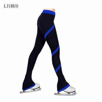 Figure Skating Pants Women's Girls' Ice Skating Tights Bottoms Rose Red Red Blue Light Blue Light Pink High Elasticity Practise - DISCOUNT ITEM  40% OFF All Category