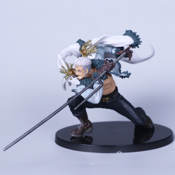 Anime One Piece Character Smoker  Statue Figure Model Toys 14cm