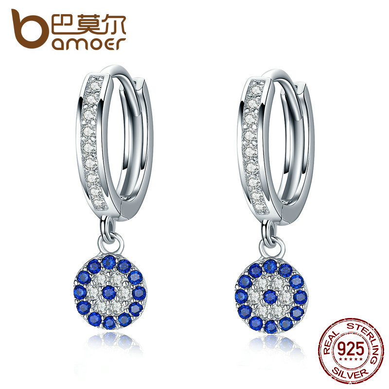 Earrings Smart Hot 925sterling Solid Silver Jewelry Crystal Cross Stud Earrings For Women E567 Wide Selection;