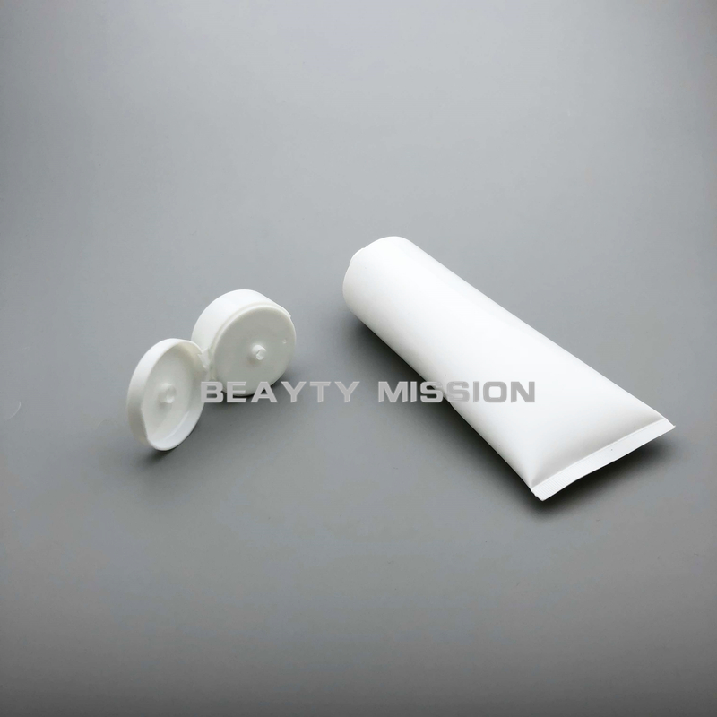 250ml 30Pcs Lot White Empty plastic Soft tube Cosmetic Packaging 250cc Lotion Cream Skin Care Cream