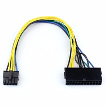 Power Line Data Conversion Line Adapter for Transforming 24 Pin to 10 Pin Lenovo PC Mainboard