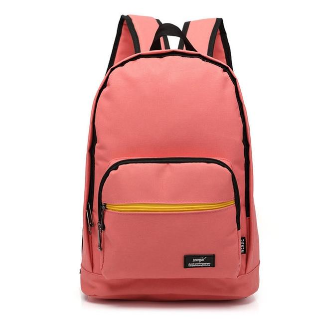 Women/Men Shoulders Bag Backpack Junior High School Students ...