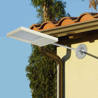 2016New Zonne-energie Panel 18 Led-straatverlichting Solar Sensor Licht Outdoor Tuinpad Spot Licht Muur Emergency Lamp Luminaria