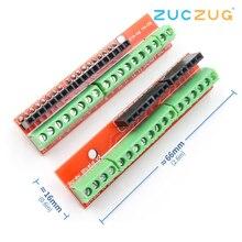 בורג חומת V2 מחקר מסוף הרחבת לוח (כפול תמיכה) עבור arduino UNO R3