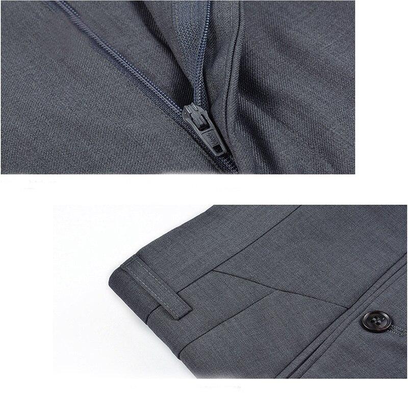 Lujo para hombre Pantalones de traje vestido de la manera Pantalones  negocios formal casual Pantalones slim fit masculino vestido de novia traje  de hombre ... 99e95928605b