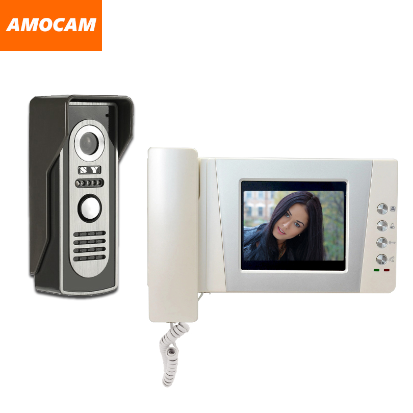 4.3 Telephone Monitor Video Door Phone Doorbell System Video Intercom IR Night Vision Alloy Door Camera Video Doorphone kit 9 big monitor video door phone doorbell system video intercom ir night vision door alloy camera video doorphone ui interface page 6