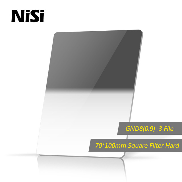 NiSi 70*100mm 3stops Hard GND8(0.9) Square Gradient Neutral Density Filters стоимость