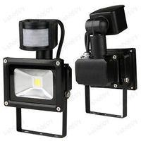 Detector PIR Motion Sensor Security Flood Light Lamp 30W Walkway Backyard Home