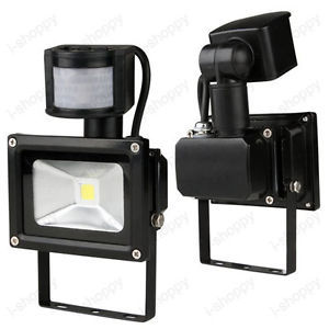 Detector PIR Motion Sensor Security Flood Light Lamp 30W Walkway Backyard  Home