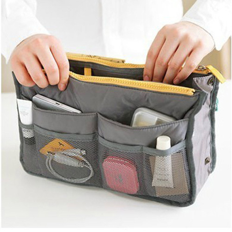 New Women Portable Makeup Bag Beauty Travel Cosmetic Bag Organizer Case Makeup Wash Pouch Toiletry Bag Travel Accessories