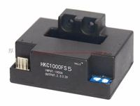 Holzer akım sensörü HKC-FS5  5V güç kaynağı  4.5V voltaj çıkışı  ölçüm pozitif ve negatif 200A to 2000A
