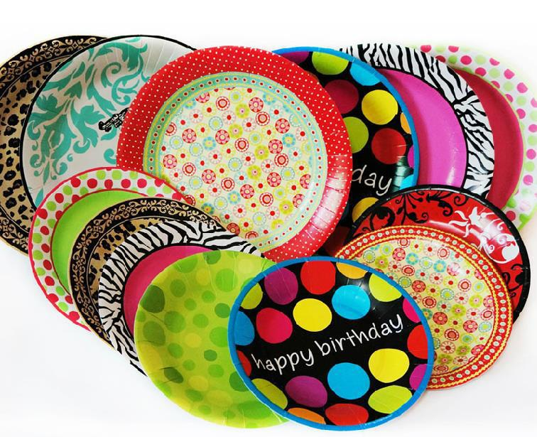 10 Pieces 6 inch Disposable Tray Cake Pans Grill Paper Plates Tableware For Kids Birthday Wedding Party Nursery Supplies on Aliexpress.com | Alibaba Group  sc 1 st  AliExpress.com : paper plates decorative - pezcame.com