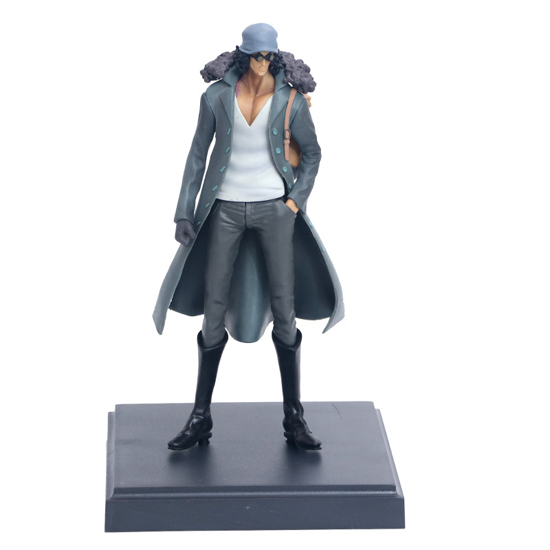 Anime <font><b>One</b></font> <font><b>Piece</b></font> <font><b>Ichiban</b></font> <font><b>Kuji</b></font> Last Kuzan PVC Action Figure Collectible Model Kids Toys Doll 23cm image
