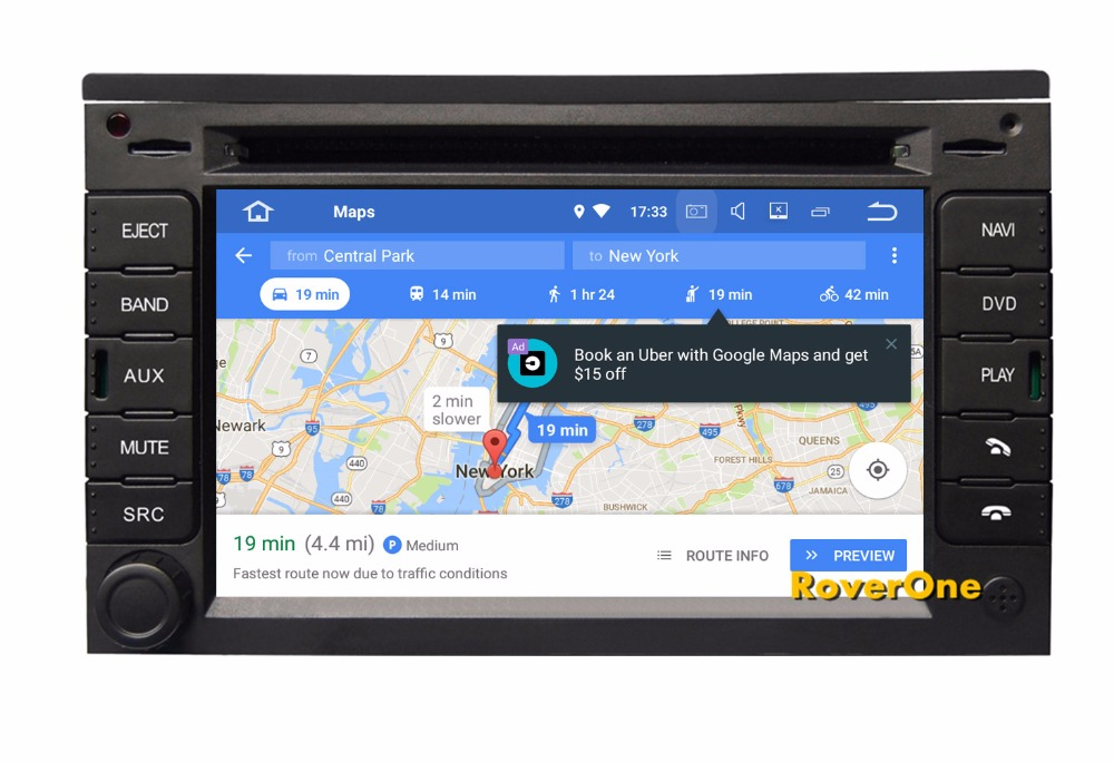 RoverOne S200 Android 8.0 Car Multimedia Player For Citroen C2 C3 Autoradio DVD Radio Stereo GPS Navigation Sat Navi Bluetooth