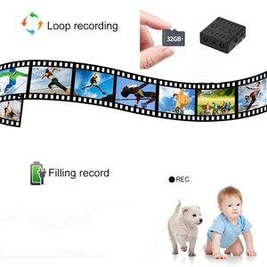 Mini caméra plus petite 1080 P Full HD IR caméscope infrarouge Vision nocturne Micro caméra détection DV vidéo prise en charge vocale cachée carte TF