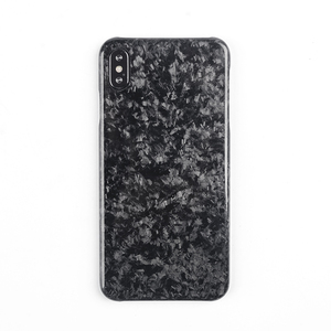 Image 1 - New Forged Composite Real Carbon Fiber Mobile Phone Case For iPhone XS MAX Cover Full Protection For iPhone X XS XR Case