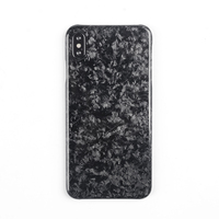 New Forged Composite Real Carbon Fiber Mobile Phone Case For iPhone XS MAX Cover Full Protection For iPhone X XS XR Case
