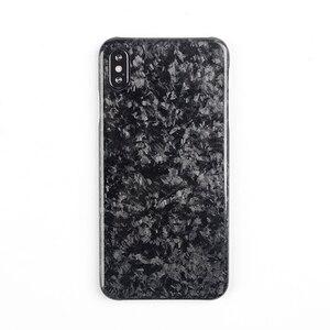 Image 1 - Nouveau étui de téléphone portable en Fiber de carbone Composite forgé pour iPhone XS MAX couverture complète Protection pour étui iPhone X XS XR