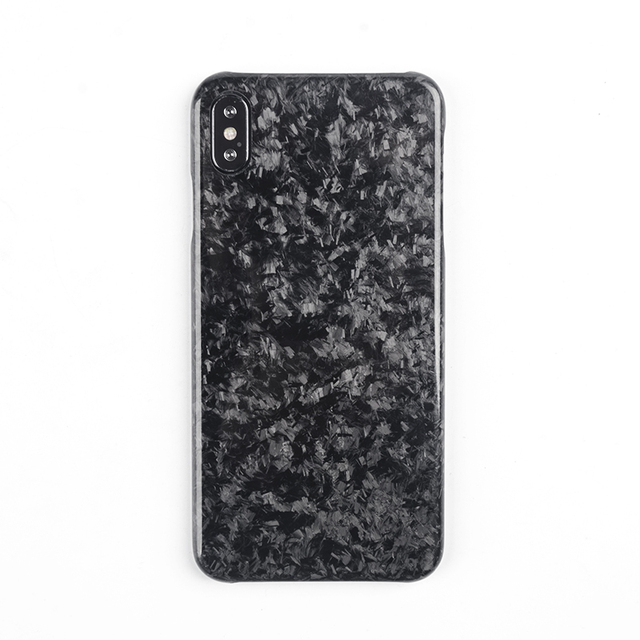 Nouveau étui de téléphone portable en Fiber de carbone Composite forgé pour iPhone XS MAX couverture complète Protection pour étui iPhone X XS XR