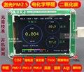 M5S con temperatura y humedad Sensor PM1.0 + PM2.5 + PM10 PM2.5 + conteo de Partículas + formaldehído + temperatura y Sensor de humedad