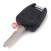 Keyecu Remoto Clave 3 Botón 433 MHz + Nuevo Telecontrol y el Transpondedor ID40 para Vauxhall Opel Vectra Zafira G * M #24424728