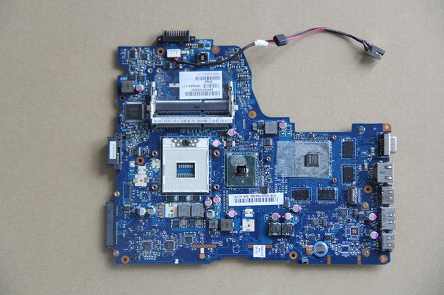 K000104390 For Toshiba Satellite A660 A665 Laptop motherboard NWQAA LA 6062P with N11P GE1 A3 GPU Onboard HM55 DDR3 fully tested