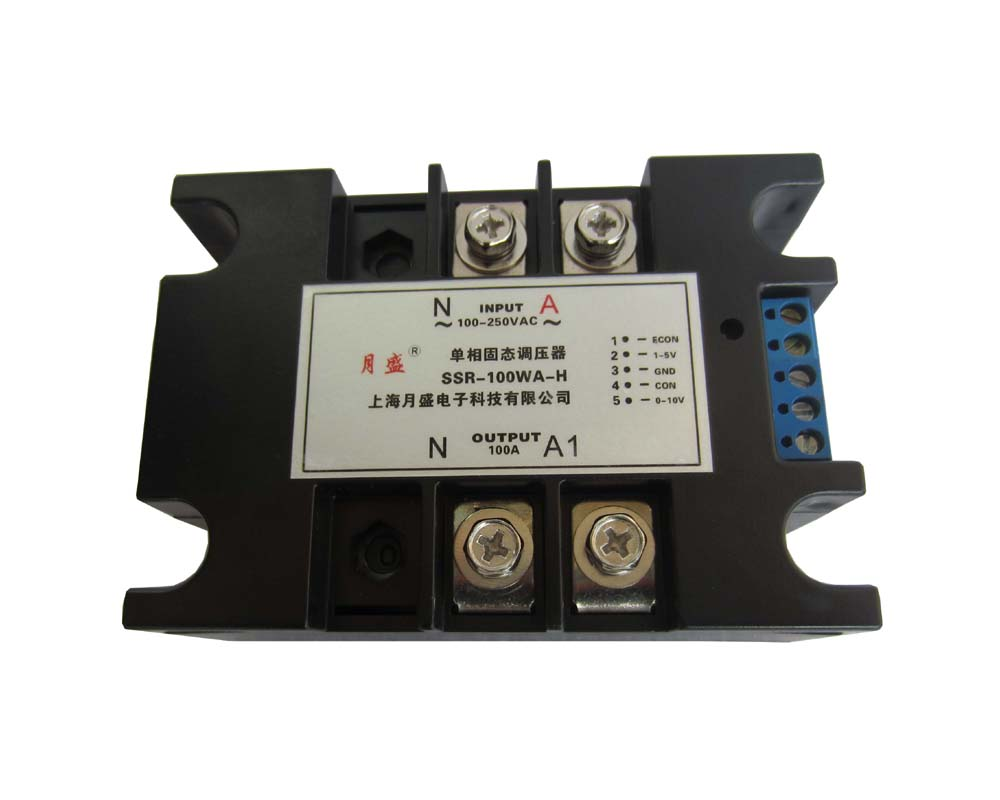 Single-phase AC voltage-regulator module, fully isolated solid-state voltage-regulator 120A
