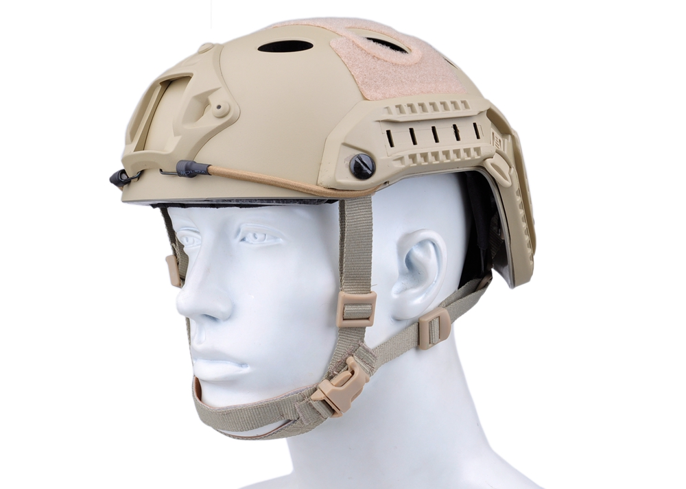 Helmet Combat Tactical FAST Helmet PJ Type for Airsoft Paintball Military Adjustable CS Pararescue Jump Protective Helmet NH0110 fast helmet protective goggle helmet pararescue jump type helmet military tactical airsoft helmet