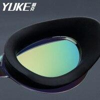 YUKE adult swim okulary Anti Fog Ochrona UV Swim Okulary Profesjonalne Galwaniczną Wodoodporne Pływać Gogle