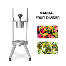 Manual Fruit Pear Cutter Vertical Stainless Steel Divider Tool Hand Push Slice Kitchen Machine