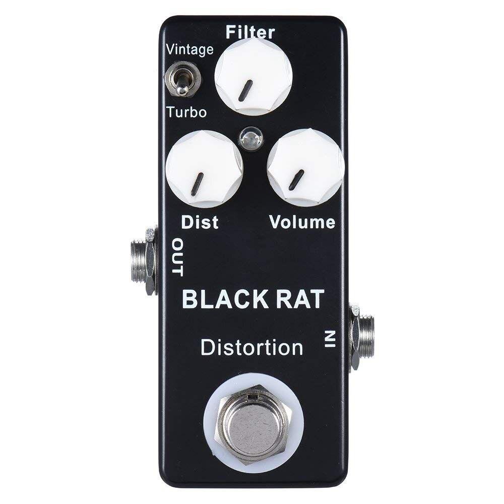 все цены на XFDZ Mosky Black RAT Distortion Mini Guitar Effect Pedal онлайн