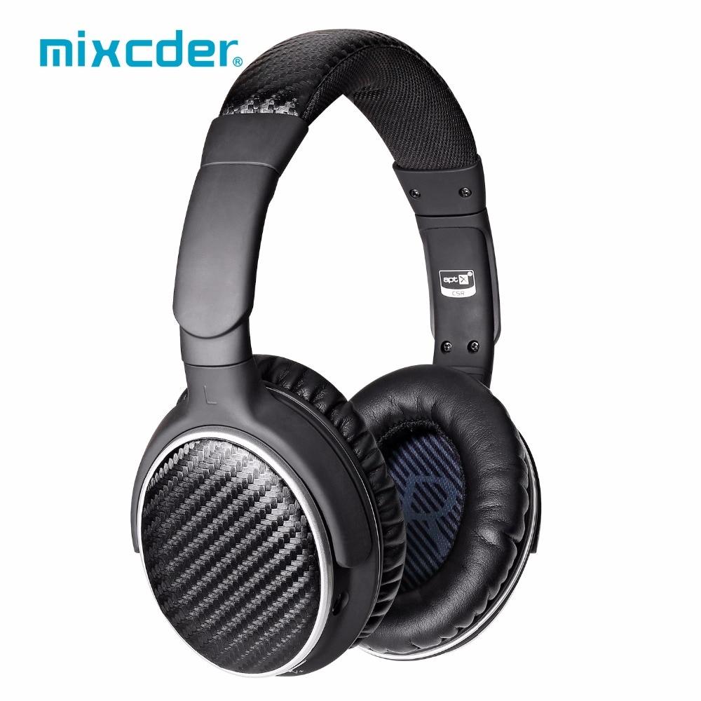 Mixcder HD401 aptX Wireless Bluetooth Headphones HiFi CD Like Sound Bluetooth Headset for TV Iphon Deep