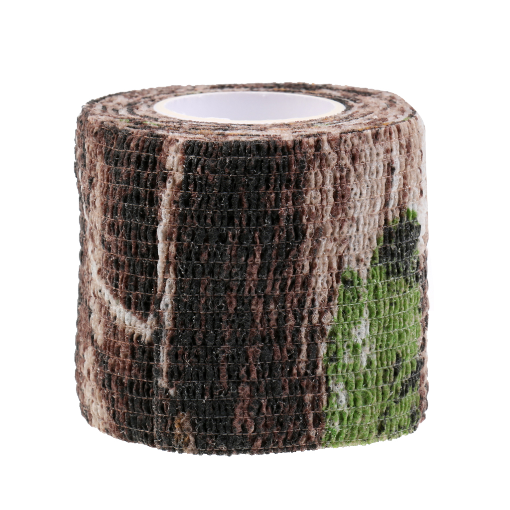 Image 5 - Elastic Camouflage Fabric Tape Camo Stealth Tape 220x5CM Concealment Aid for Binoculars Torches Hiking Camp Hunting-in Hunting Gun Accessories from Sports & Entertainment