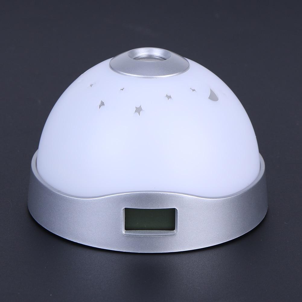 Luzes da Noite projeção relógio de cabeceira candeeiro Modelo Número : Night Light