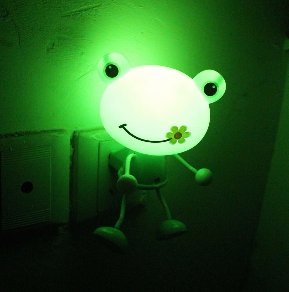 Hello Kitty / Panda / Frog LED Night Light Lamp (Energy