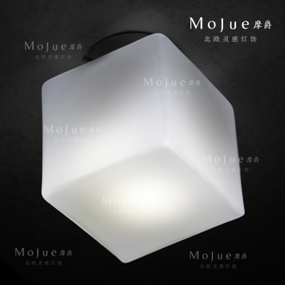 American itre cubi glass cube of sugar ceiling light led in ceiling american itre cubi glass cube of sugar ceiling light led aloadofball Choice Image