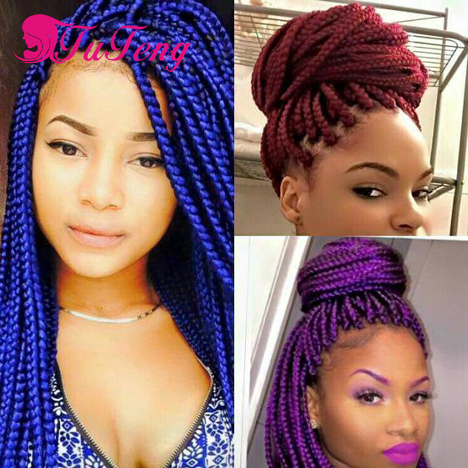 Aliexpress : Buy Box Braids Crochet Braid Havana Mambo Twist Synthetic Hair  Extensions Hair Tinsel Extension