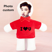 Photo customization iso-shaped like a diy star picture dolls birthday valentines day personality gift