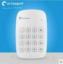 Free shipping Etiger 433Mhz wireless RFID tags keypad for Etiger S4 alarm System And S3B GSM