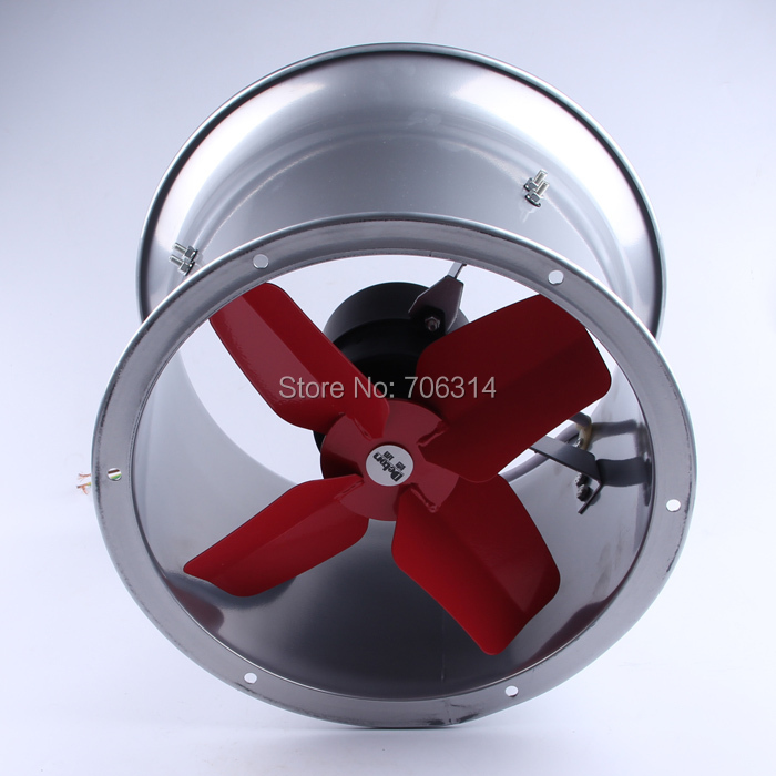 High Pressure Axial Fan 6 : Steel fan v high temperature resistance small pipe