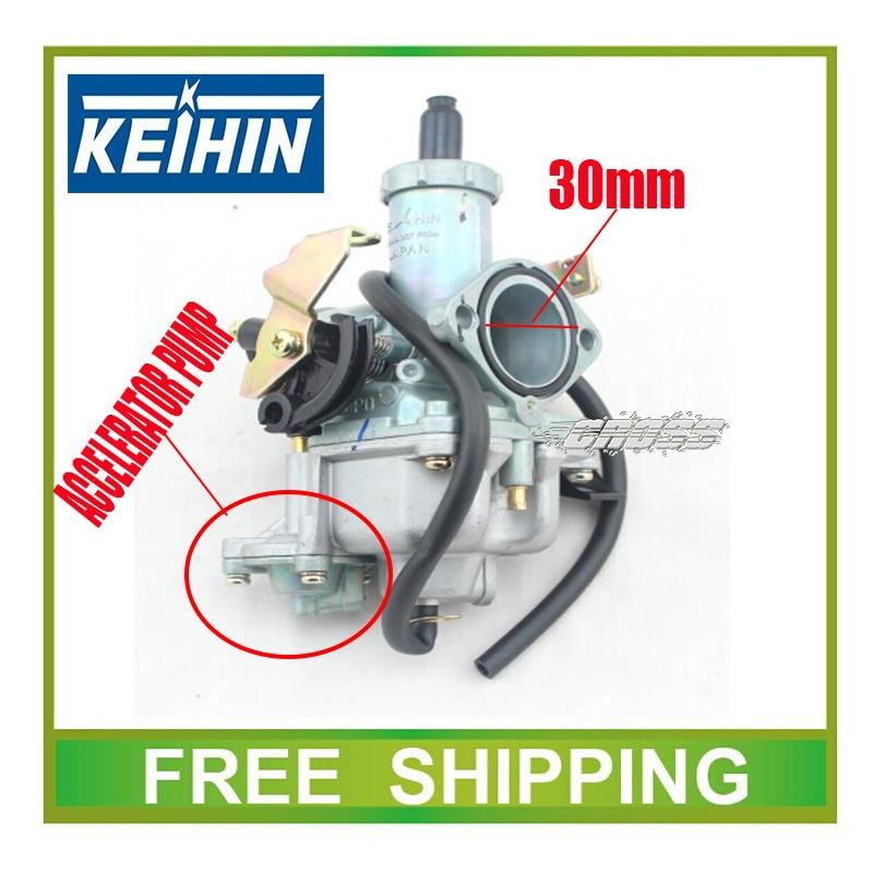 KEIHIN 30 mm-es karburátor gyorsító szivattyú gyorsítós - Motorkerékpár tartozékok és alkatrészek - Fénykép 2